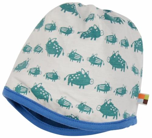 Mütze Wollfleece Ultramarin