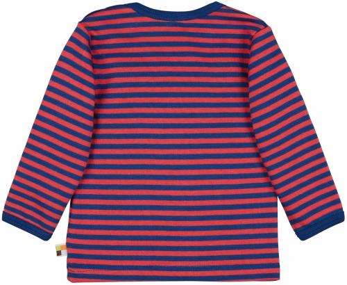 Shirt Streifen Ultramarin