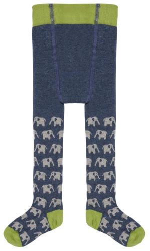 Strumpfhose Ultramarine/Elephants