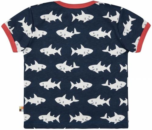 T-Shirt Druck Ultramarin