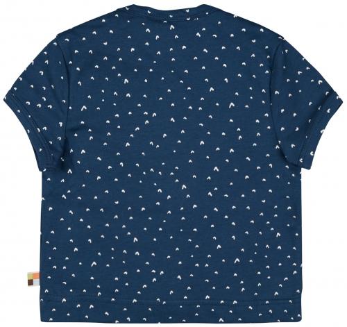 T-Shirt mit Druck Ultramarin